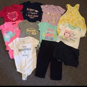 Other - 11 Piece Baby Infant Girl Bundle 3-6 Months